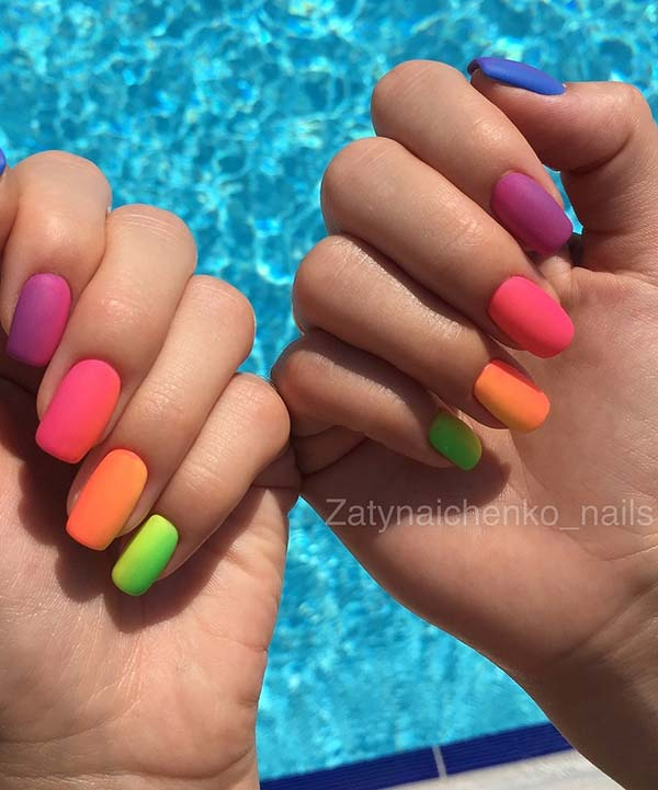 13 Colorful Nail Designs For This Summer Crazyforus