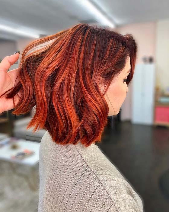 best short red hair ideas for a new start  crazyforus