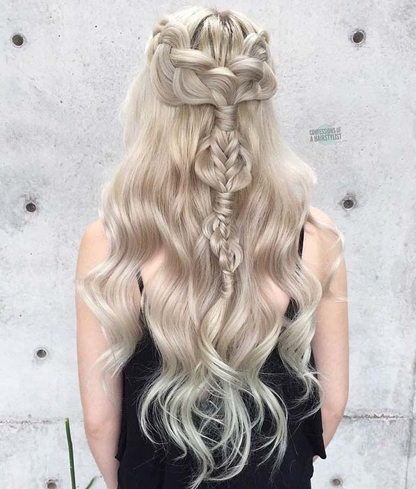 Funky Braided Hairstyle