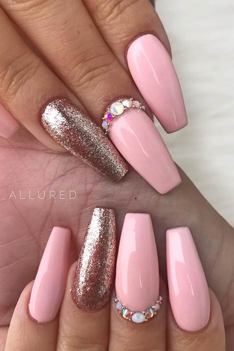 Silver And Pink Nails : silver, nails, Light, Designs, Ideas, StayGlam