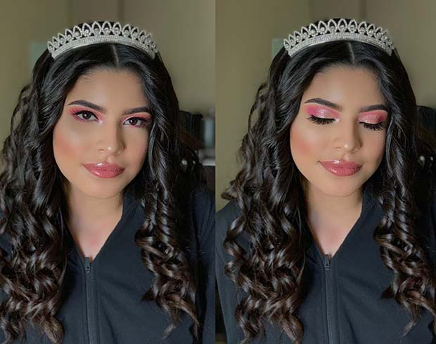 Pretty Crown and Curls