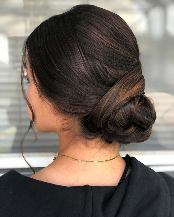 Simple and Beautiful Updo