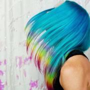 rainbow hair ideas bold