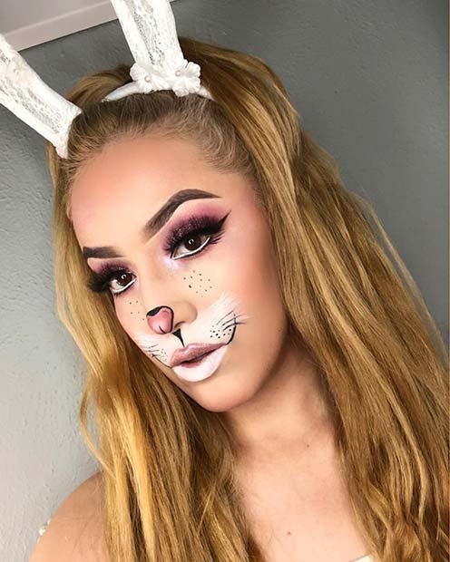 White Rabbit Makeup and Costume | Tiffyquake