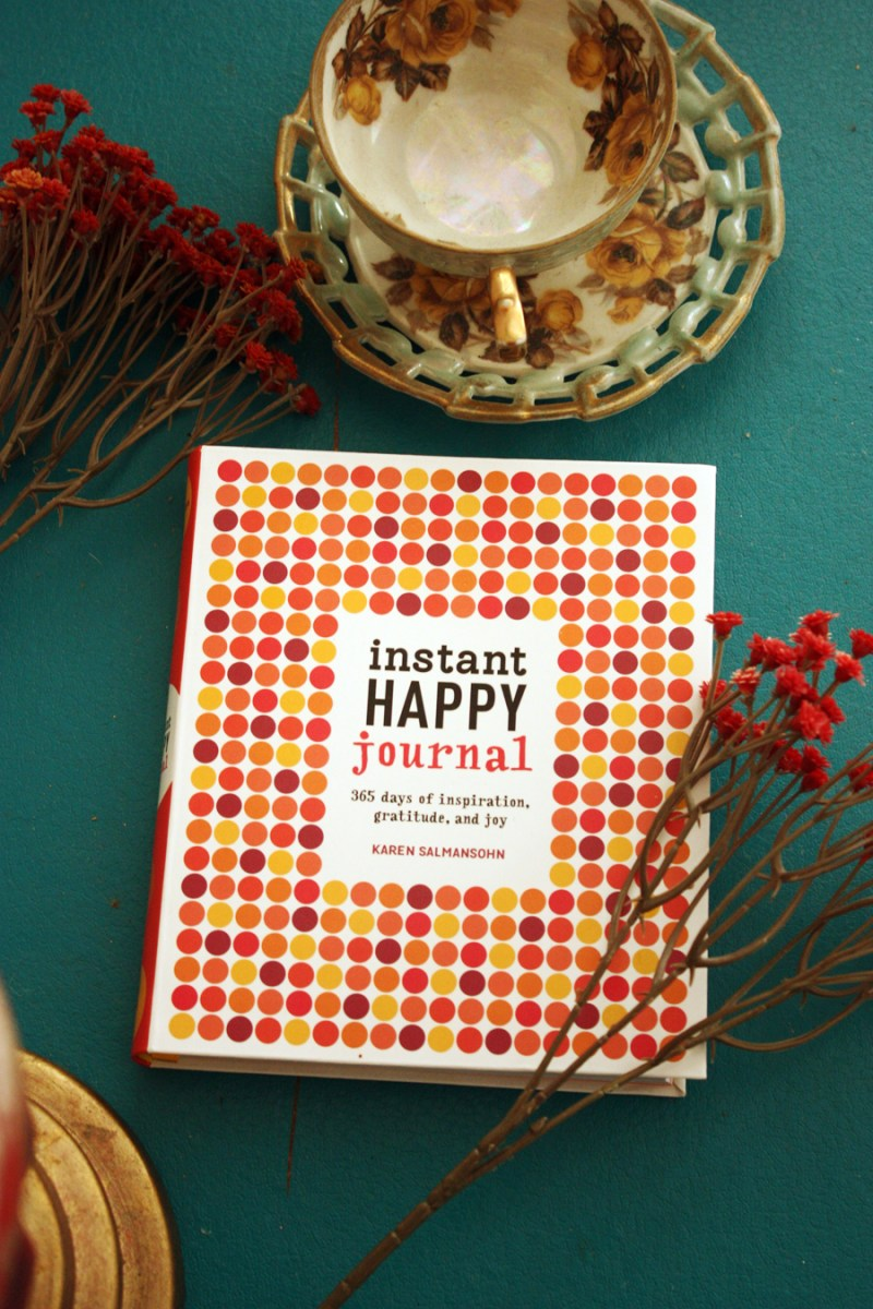 Instant Happy Journal by Karen Salmansohn
