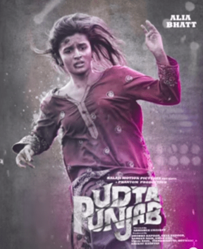 Aliya's look in Udta Punjab