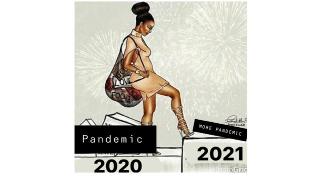 woman stepping into new year meme Archives - StayHipp
