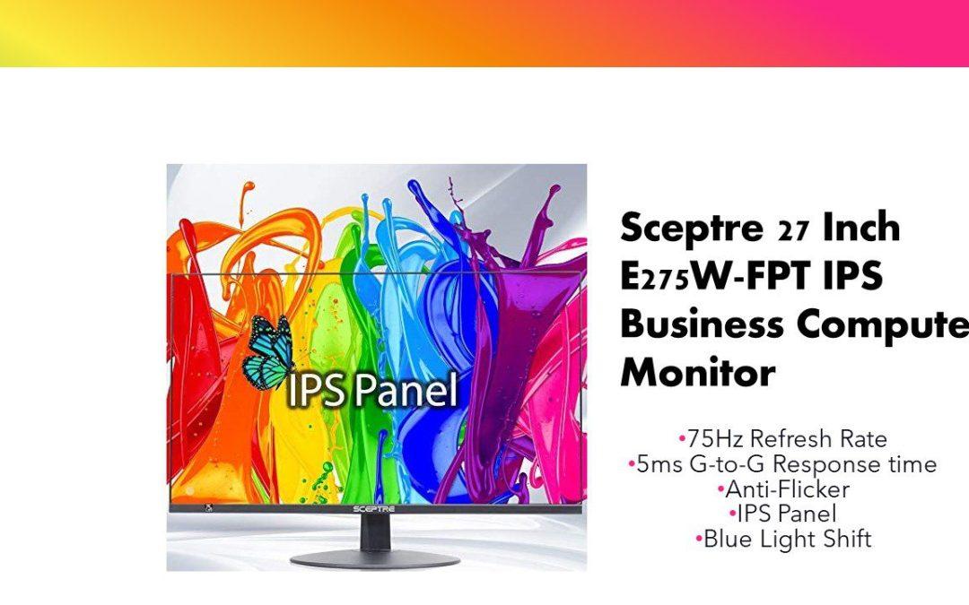 Sceptre IPS 27 Inch Computer Monitor (E275W-FPT)