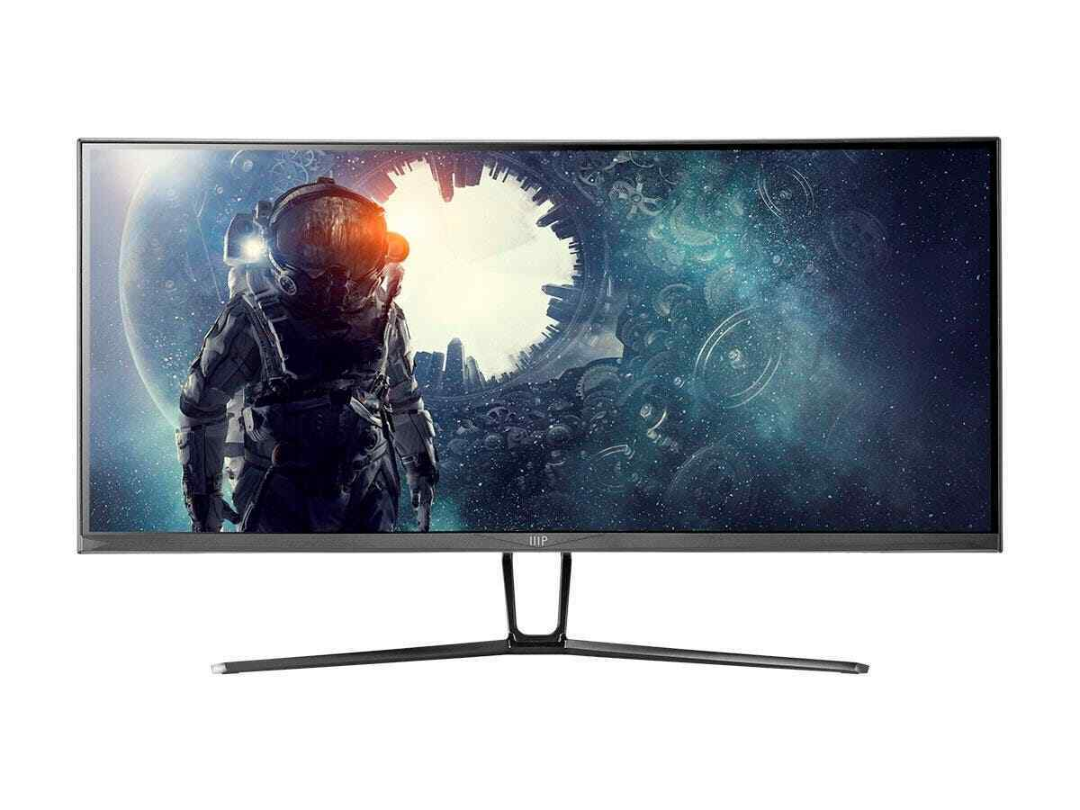 Monoprice 35 inch zero g curved ultrawide gaming monitor