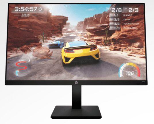 HP X27 FHD 27 Inch Gaming Monitor Bundle