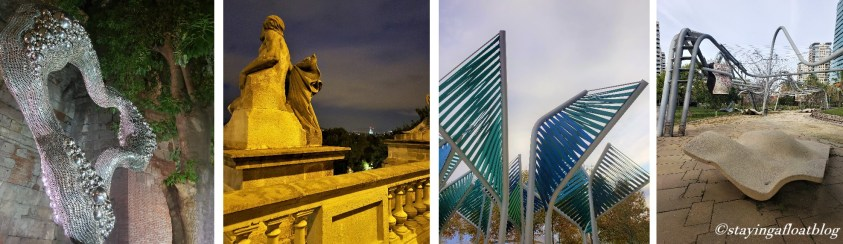 explore Barcelona 's sculptures