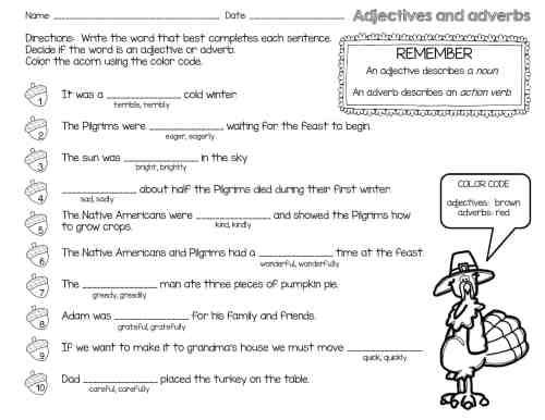 small resolution of Thanksgiving Reading Comprehension Passages and Activities