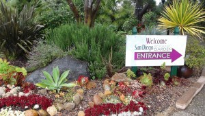 We are close to the San Diego Botanic Garden.