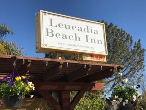 Our previous Leucadia Beach Inn sign.