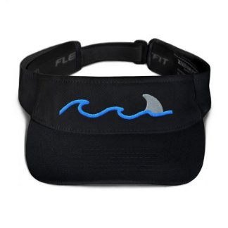 Shark Fin Visor in Black