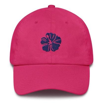 Hibiscus Hot Pink Baseball Hat