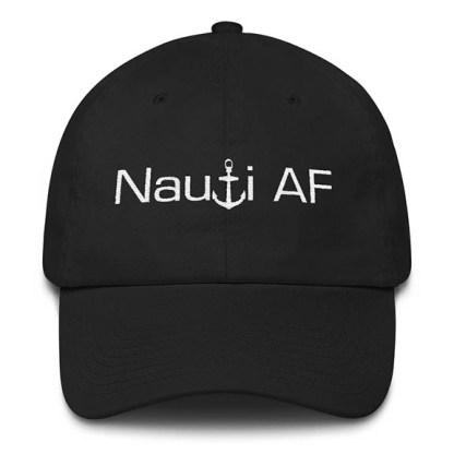 Nauti AF Baseball Hat Black
