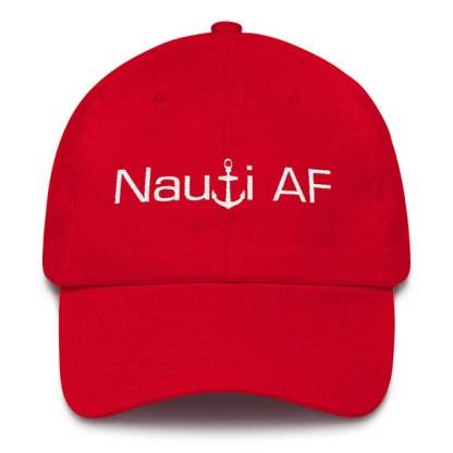 Red Nauti AF Baseball Hat