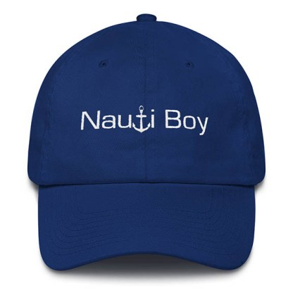 Nauti Boy Royal Blue Baseball Hat