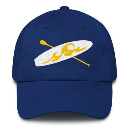 Paddle board Baseball Hat in Royal Blue