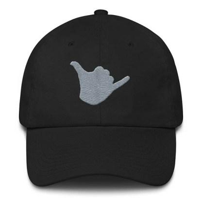 Shaka Baseball Hat Black