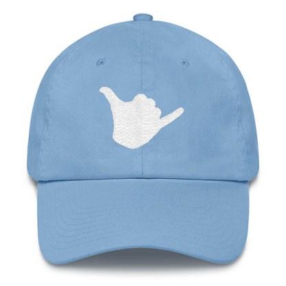 Shaka Baseball Hat Carolina Blue