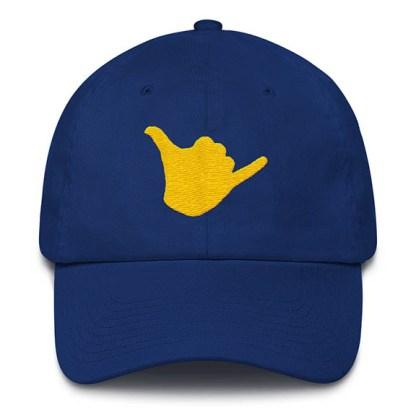 Shaka Baseball Hat Royal Blue