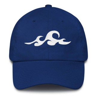 Waves Royal Blue Baseball Hat