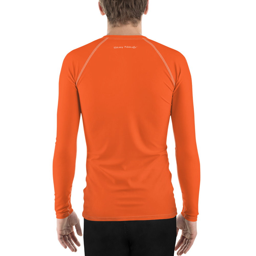 Good Vibes Only - Orange - Men's Swim Shirt | Rash Guard
