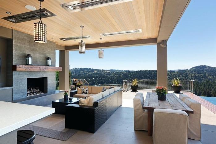 outdoor lighting ideas for patios - pendant lights