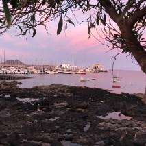 Sunset in Corralejo