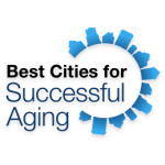 best cities for successful aging logo