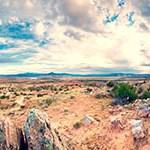 rural desert landscape