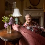 older woman living comfortably alone