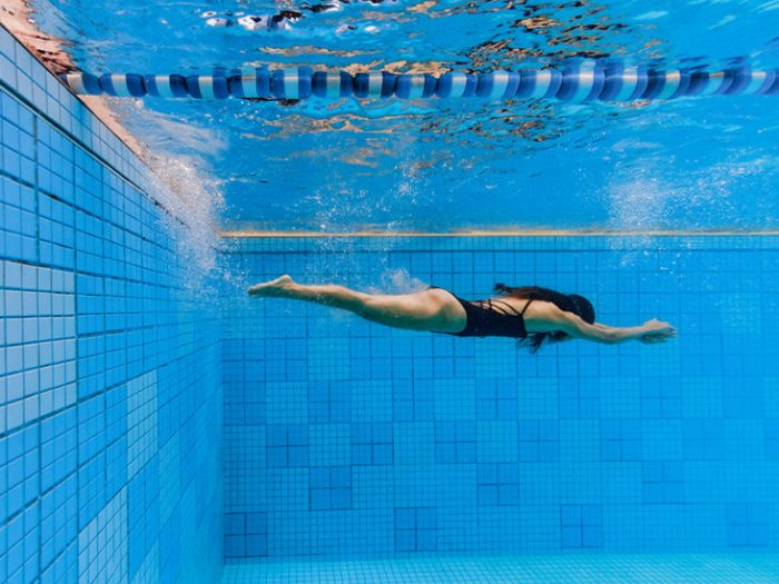 Swimming exercise for fitness