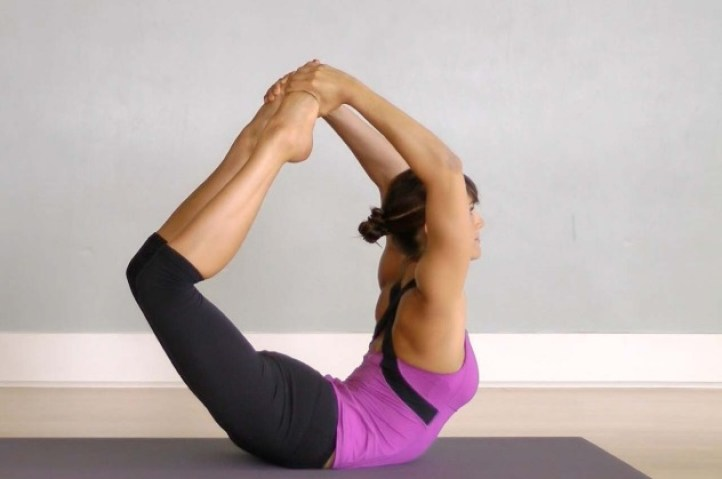 Reduce your Belly and Lose weight using Dhanurasana