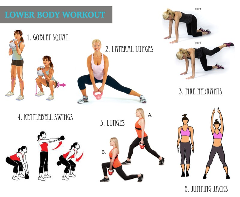 Lower Body Strength Training Exercises