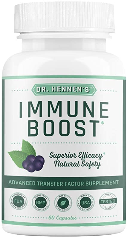 Dr. Hennen's Immune Boost Immune Support Supplement