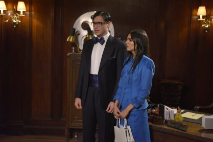 THE ROCKY HORROR PICTURE SHOW: LET'S DO THE TIME WARP AGAIN: L-R: Ryan McCartan and Victoria Justice in THE ROCKY HORROR PICTURE SHOW: LET'S DO THE TIME WARP AGAIN: Premiering Thursday, Oct. 20 (8:00-10:00 PM ET/PT) on FOX. ©2016 Fox Broadcasting Co. Cr: Steve Wilkie/FOX