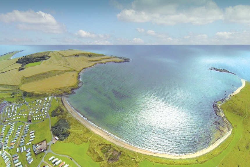 Elie Holiday Park in Fife, Southern Scotland (above) was last year voted the best visitor attraction in the county by listeners to Kingdom FM