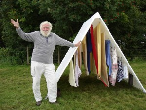 David Bellamy with a shieling dryer