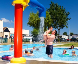 Seawick's outdoor pool is a hit with guests of all ages