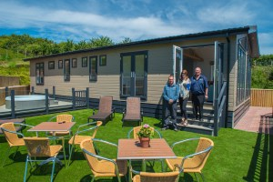 Ladram's new leisure lodge is perfect for extended families