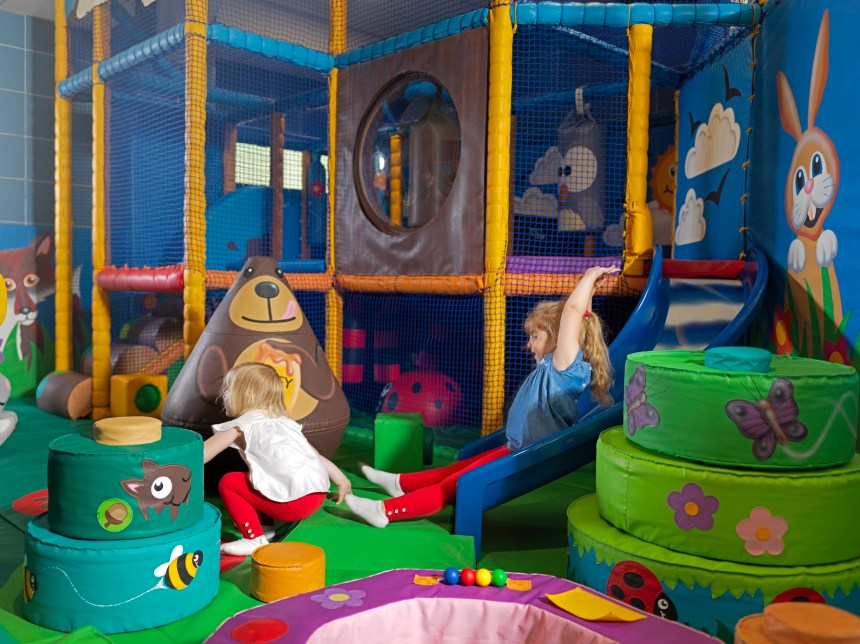 Children's challenges in Silverdale's soft play area can help develop many of the skills of mountain craft