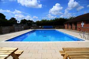 Family friendly features include a pool with sunbathing area