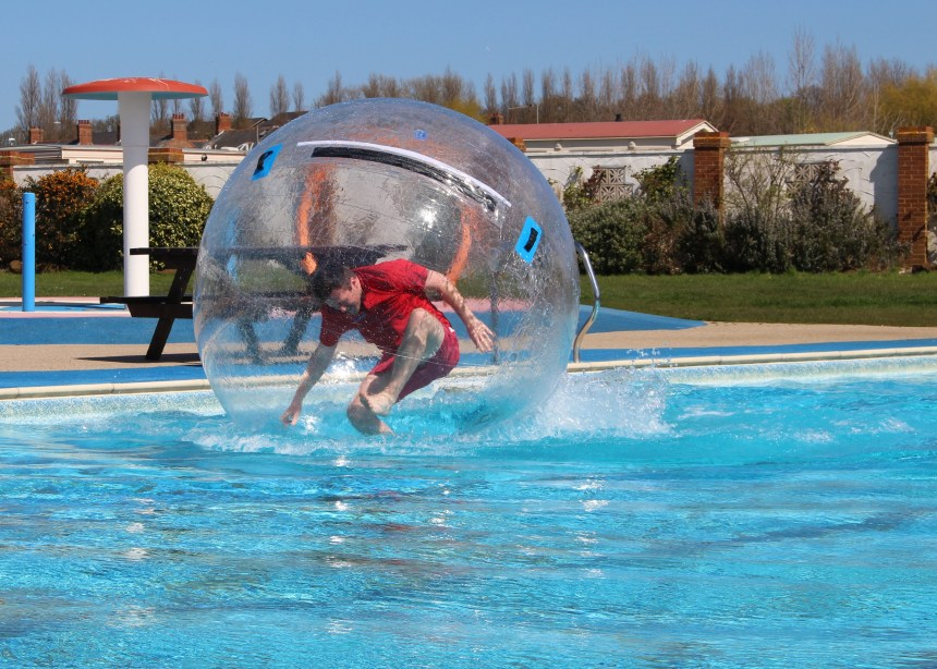 Totally ab-zorbing: guests are ditching deckchairs in favour of activities and adventure, says Searles resort