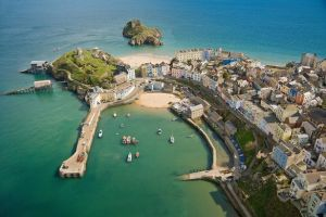 Visitor hot-spots such as Tenby (above) could suffer