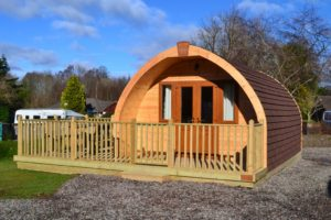 Stylish stays helped earn the park its glamping accolade