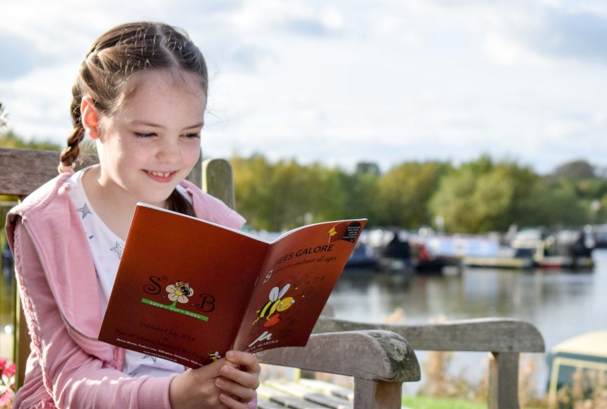 Mercia Marina visitor and nature-lover Niamh agrees with David Bellamy that it's time to give bees a chance