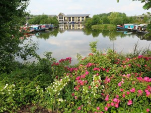 Holiday guests enjoy superb marina views from their lodges